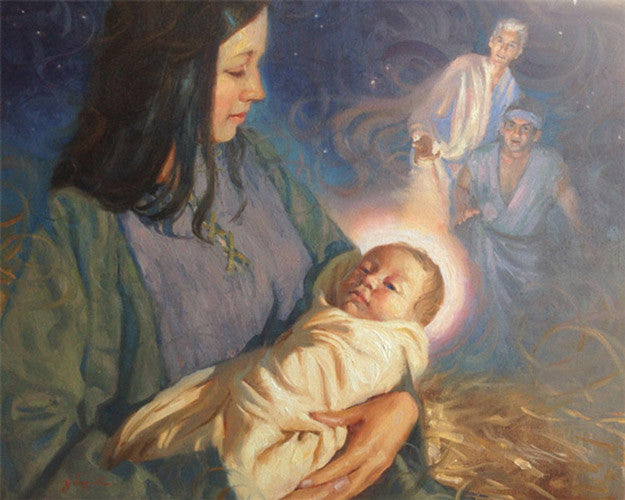 He Shall Be Born of Mary (Nephi's Vision)
