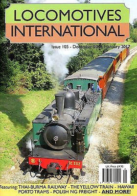LOCOMOTIVES INTERNATIONAL ISSUE 105