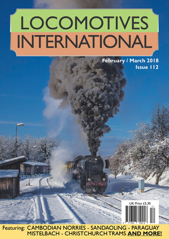 LOCOMOTIVES INTERNATIONAL ISSUE 112