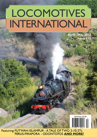 LOCOMOTIVES INTERNATIONAL ISSUE 113