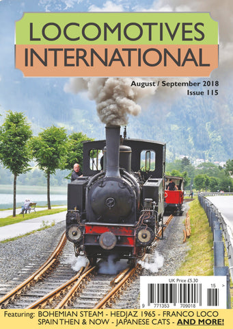 LOCOMOTIVES INTERNATIONAL ISSUE 115