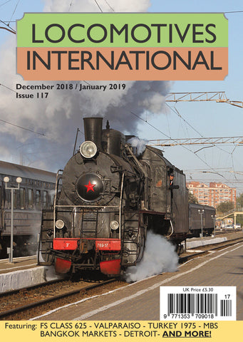 LOCOMOTIVES INTERNATIONAL SIX-ISSUE ROW SUBSCRIPTION