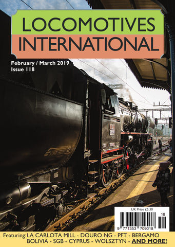 LOCOMOTIVES INTERNATIONAL ISSUE 118