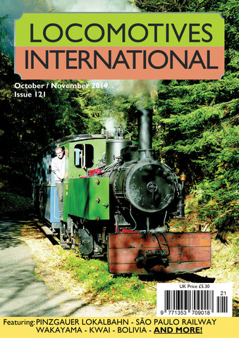 LOCOMOTIVES INTERNATIONAL ISSUE 121