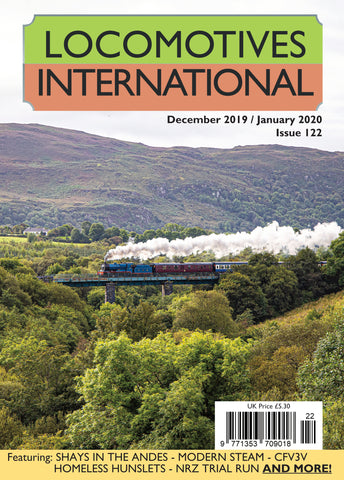 LOCOMOTIVES INTERNATIONAL ISSUE 122
