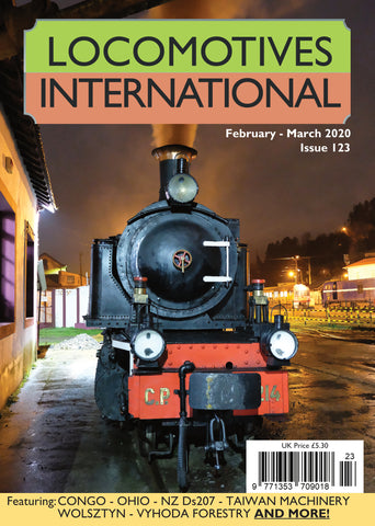 LOCOMOTIVES INTERNATIONAL ISSUE 123