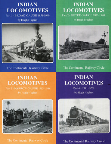 Indian Locomotives Parts 1-4 Bundle