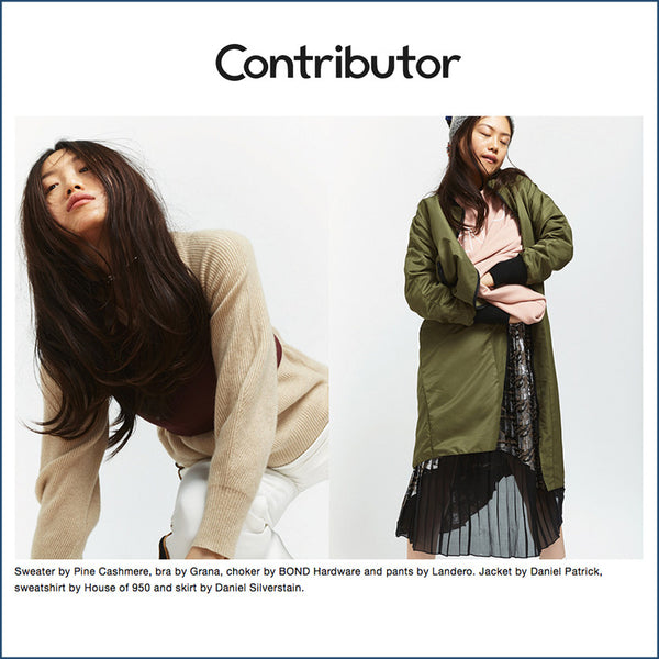Pine Cashmere on Contributor