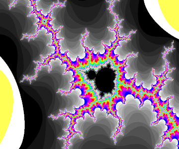 Listening to the Mandelbrot set