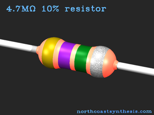 Preferred values for resistors and capacitors