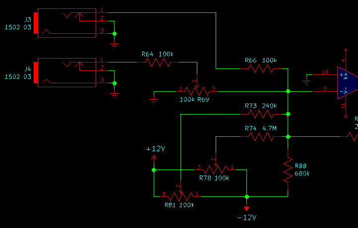 Input processing for Leapfrog VCF frequency