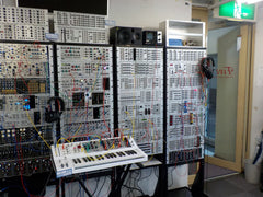 Part of a large Eurorack installation at FiveG, Tokyo