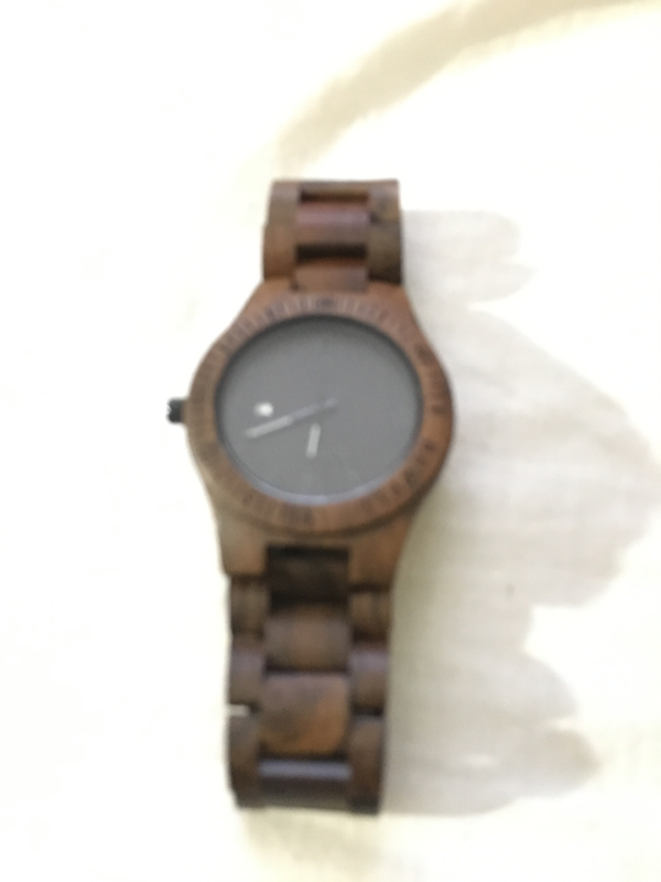 Brown Sandalwood Watch - Daino Wood