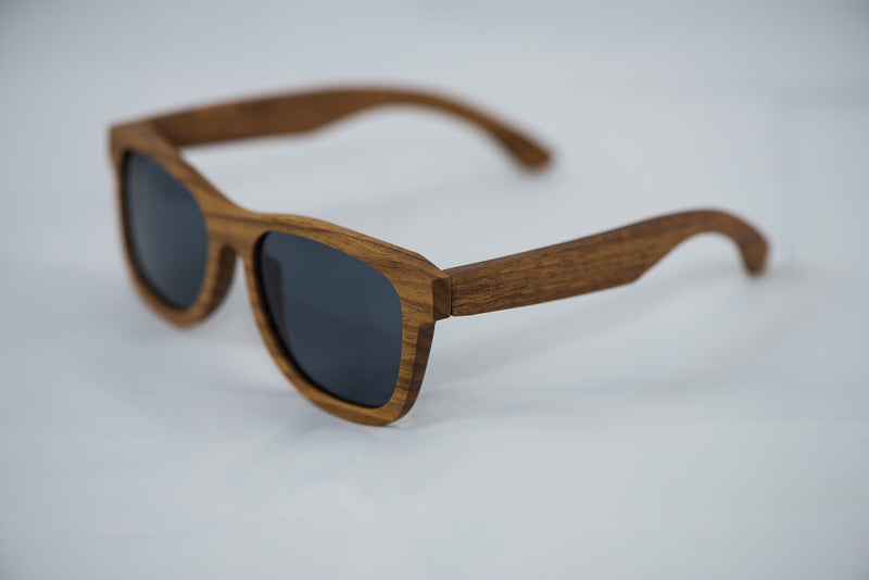Polarized Kosso Wood Sunglasses - Daino Wood