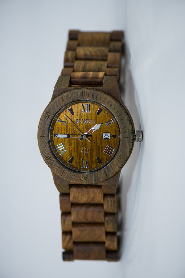 Jade Sandalwood Watch - Daino Wood