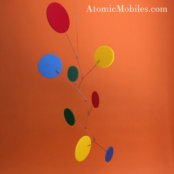 New Client Photos Posted to Social Media - hanging art by AtomicMobiles.com