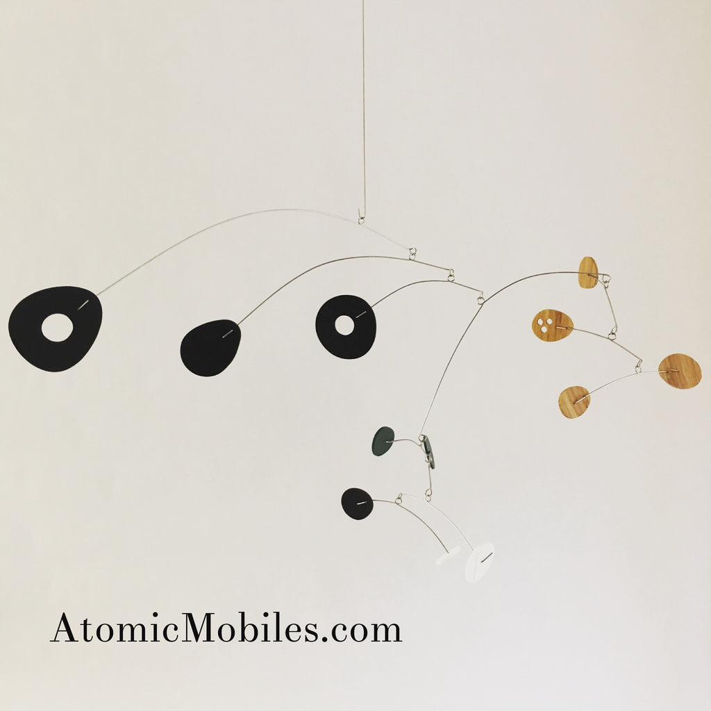 Special Bamboo Art Mobile - ModCast - by AtomicMobiles.com