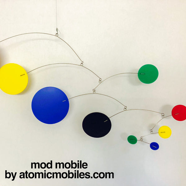 Bold Color Modern Style - Mobiles I made for clients this week