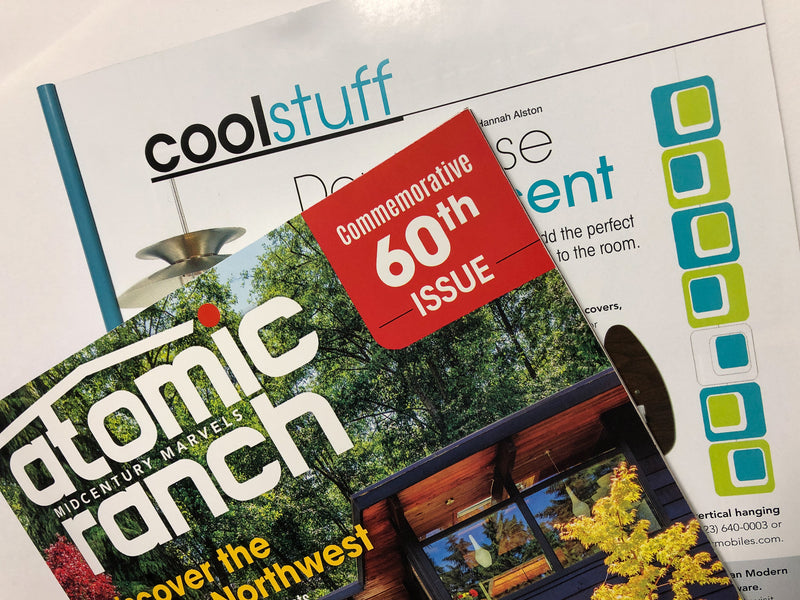 Coolsville Vertical Mobile featured in Atomic Ranch Magazine Winter 2018