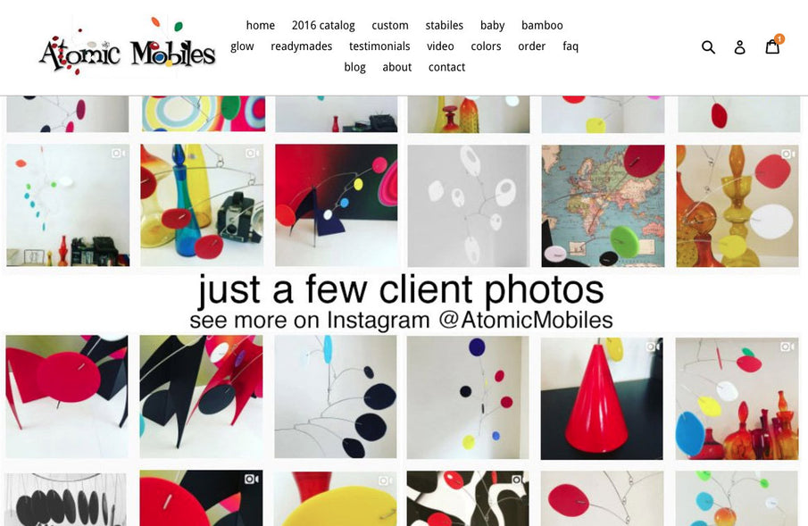 New Atomic Mobiles Site Premiers Today