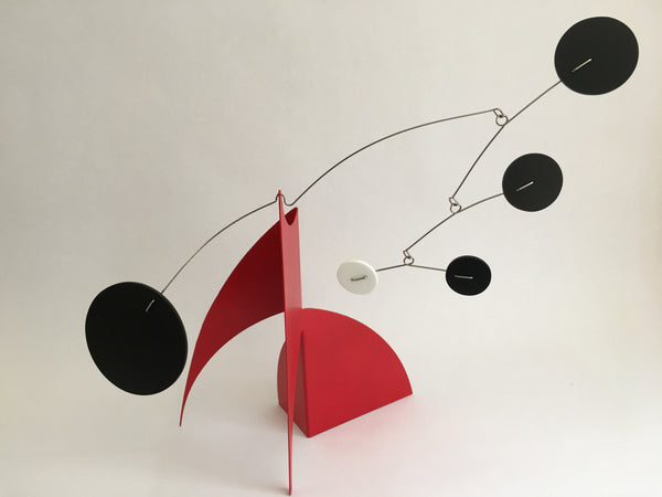 The Moderne created and shipped out for client in Boston - black, red, and white - by AtomicMobiles.com