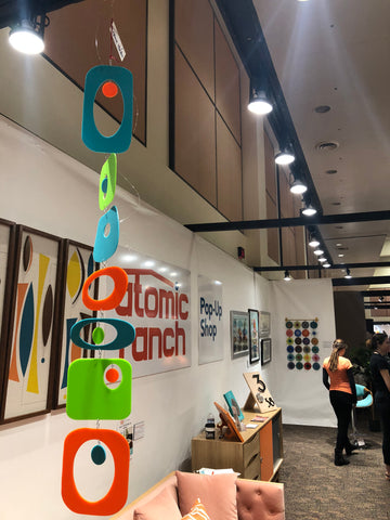 Atomic Mobiles at Modernism Week 2019 - Atomic Ranch Magazine Pop Up Store