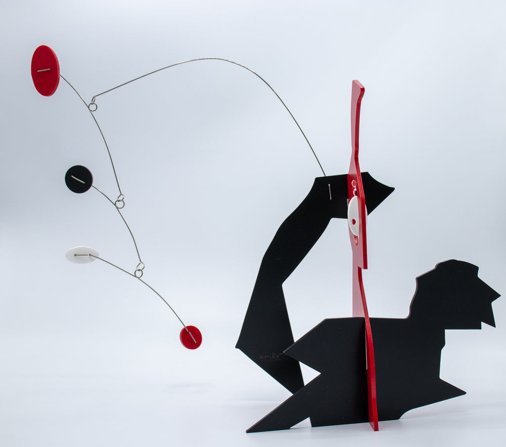 Unusual Art Stabile Sculpture by AtomicMobiles.com