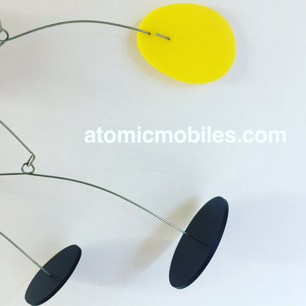 Closeup of ModCast in black and yellow for French client by AtomicMobiles.com