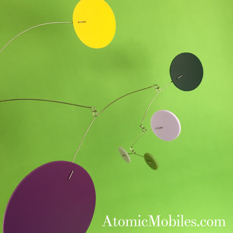 MOD Mobile - Retro MidCentury Modern Hip Style Hanging Art Sculpture by AtomicMobiles.com
