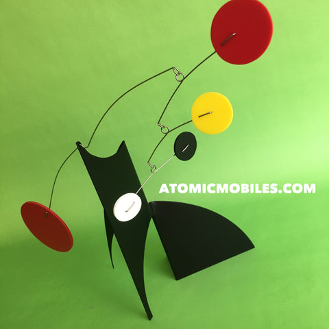 The Moderne Stabile for desktop, tabletop, and coffee table by AtomicMobiles.com