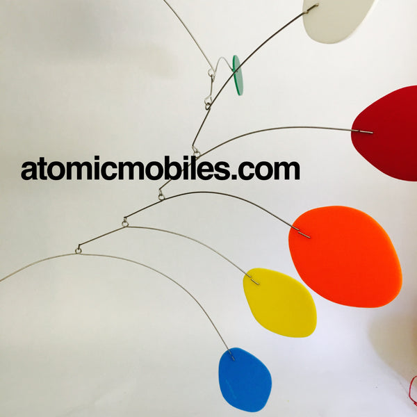 Large MCM mobile custom made for J.Crew showroom in NYC by AtomicMobiles.com