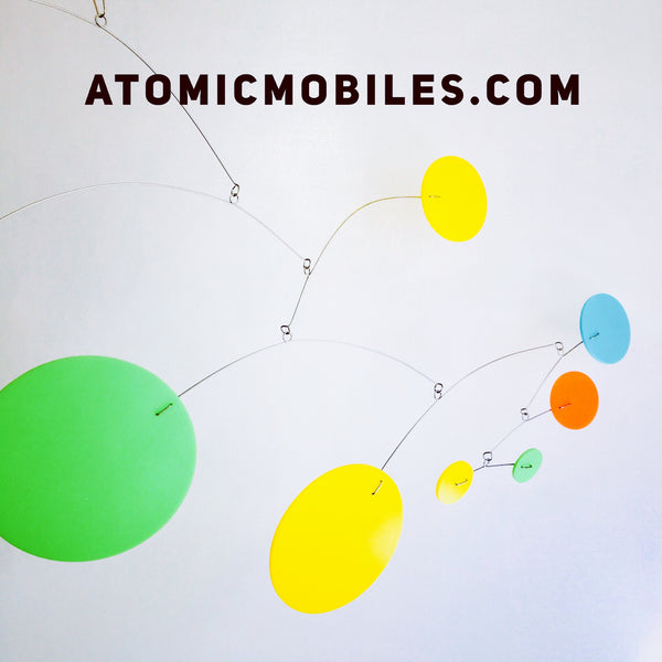 MOD Mobile in lime green, yellow, orange, and aqua blue by AtomicMobiles.com