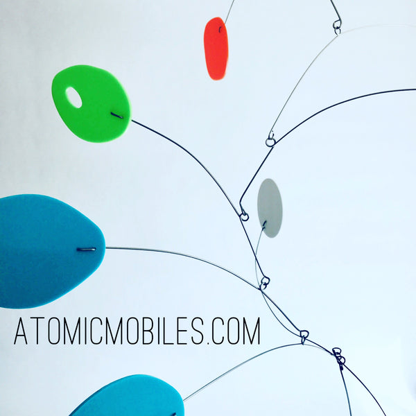 The MCM modern kinetic art mobile by AtomicMobiles.com