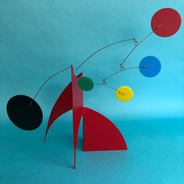 The Moderne Mid Century Modern Art Stabile by AtomicMobiles.com