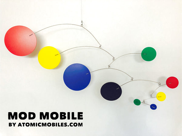 MOD Mobile in bold colors red yellow blue black green by AtomicMobiles.com
