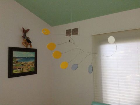 Client Photo of Midcentury Mobile in home