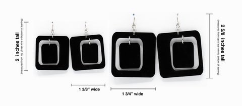 Coolsville Earrings size chart by AtomicMobiles.com