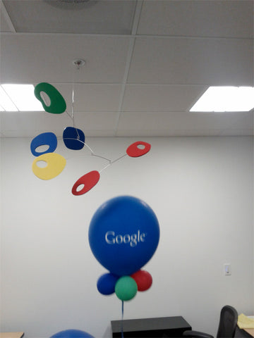 Mobile by AtomicMobiles.com hanging at Google Headquarters in Mountain View California