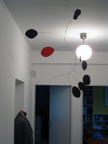 client photo of large MCM midcentury modern art mobile by AtomicMobiles.com
