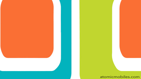 Free Mid Century Modern Style Zoom Background by AtomicMobiles.com