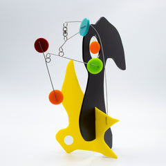 Quatorze - L'Oiseau - The Bird - Kinetic Abstract Modern Art Stabile by AtomicMobiles.com