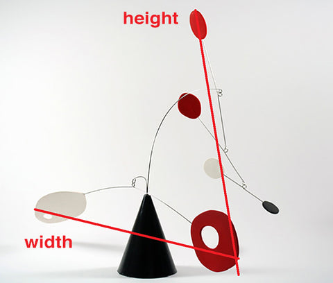 Modern Art Sculpture Measurements