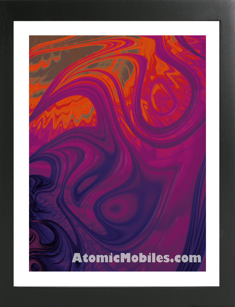 Atomic Print 25 - Bold Modern Abstract Art Giclee by AtomicMobiles.com