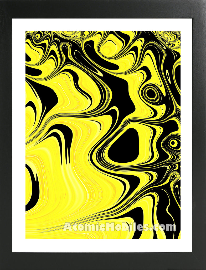 Atomic Print 28 - Bold Modern Abstract Art Giclee by AtomicMobiles.com