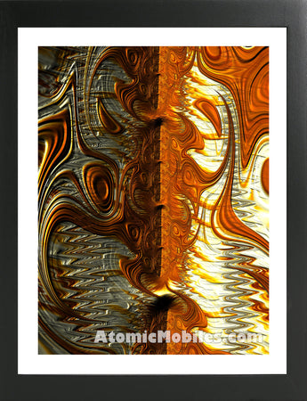 Atomic Print 34 - Bold Modern Abstract Art Giclee by AtomicMobiles.com