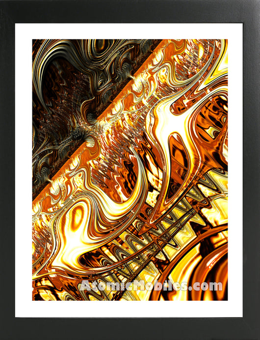 Atomic Print 36 - Bold Modern Abstract Art Giclee by AtomicMobiles.com