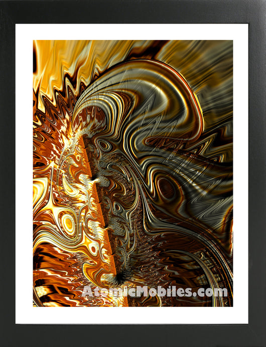 Atomic Print 37 - Bold Modern Abstract Art Giclee by AtomicMobiles.com