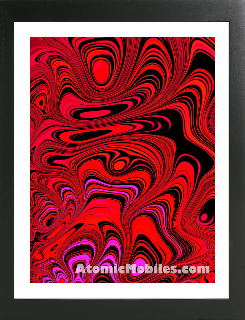 Atomic Print 41 - Bold Modern Abstract Art Giclee by AtomicMobiles.com