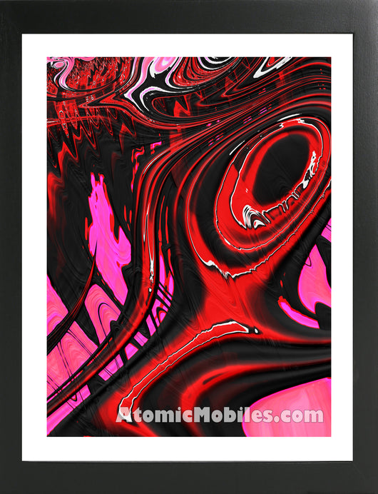 Atomic Print 42 - Bold Modern Abstract Art Giclee by AtomicMobiles.com
