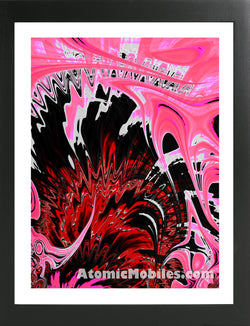 Atomic Print 43 - Bold Modern Abstract Art Giclee by AtomicMobiles.com